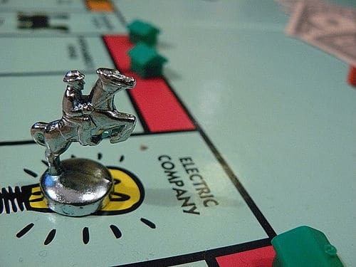 Monopoly real estate investing