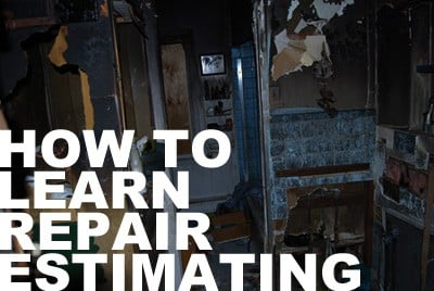 How to quickly learn how to estimate repairs for a house flip