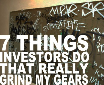 Real estate investors actions that grind my gears