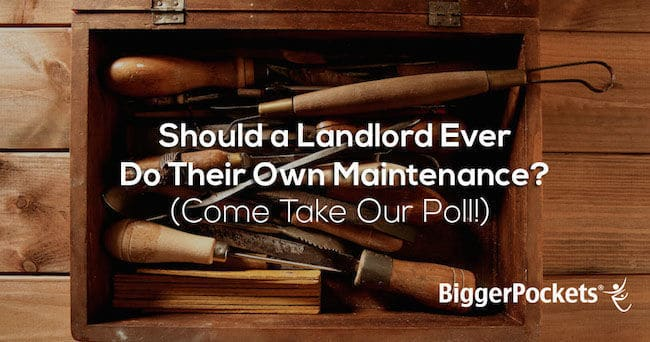 Landlord Maintenance
