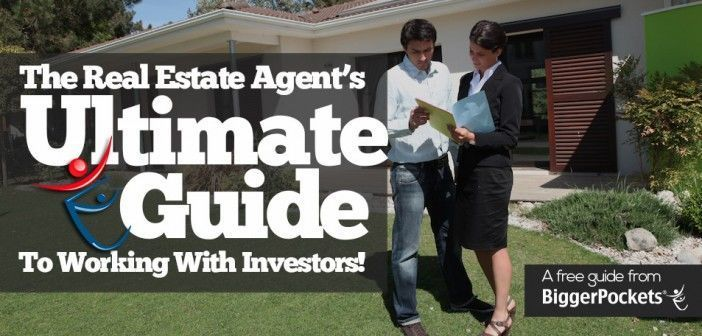 Real Estate Agent Working With Investors