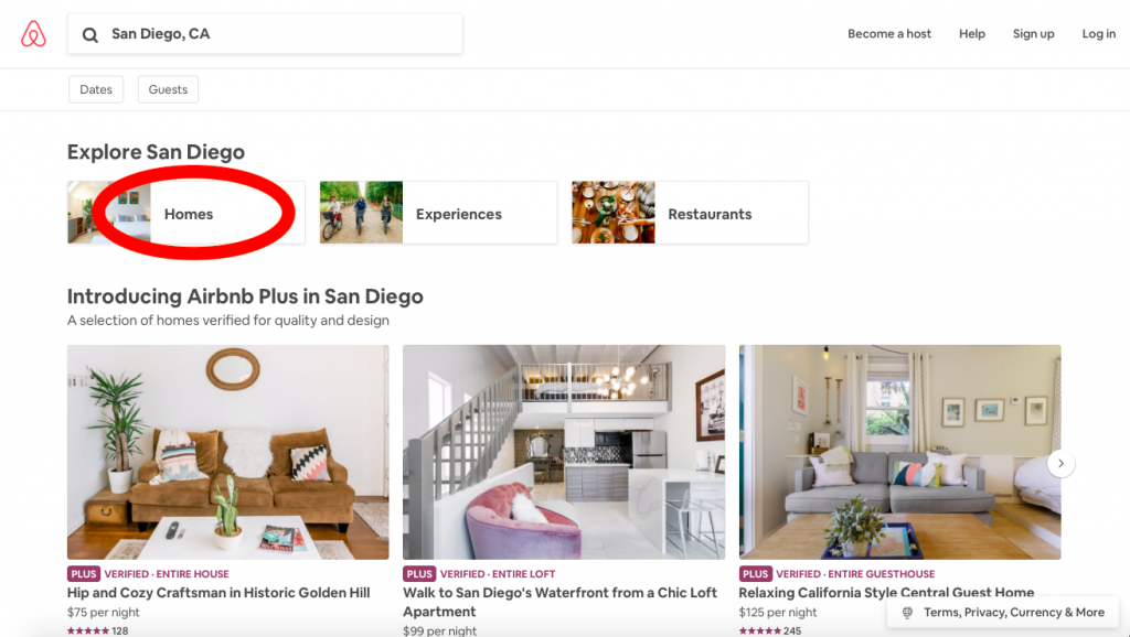 airbnb market research