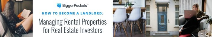 promotion for how to become a landlord guide