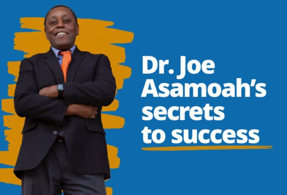 Do Well by Doing Good: Dr. Joe Asamoah's Tips for Success — In Any Economy